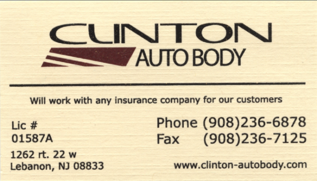 Clinton Auto Body