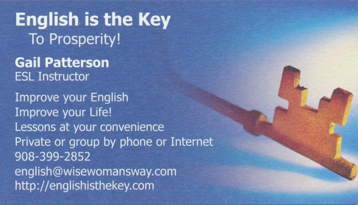 English is the Key 001