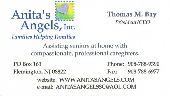 Anitas Angels Biz Card